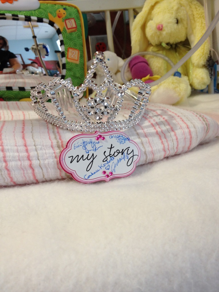 Miss USA gave me a tiara